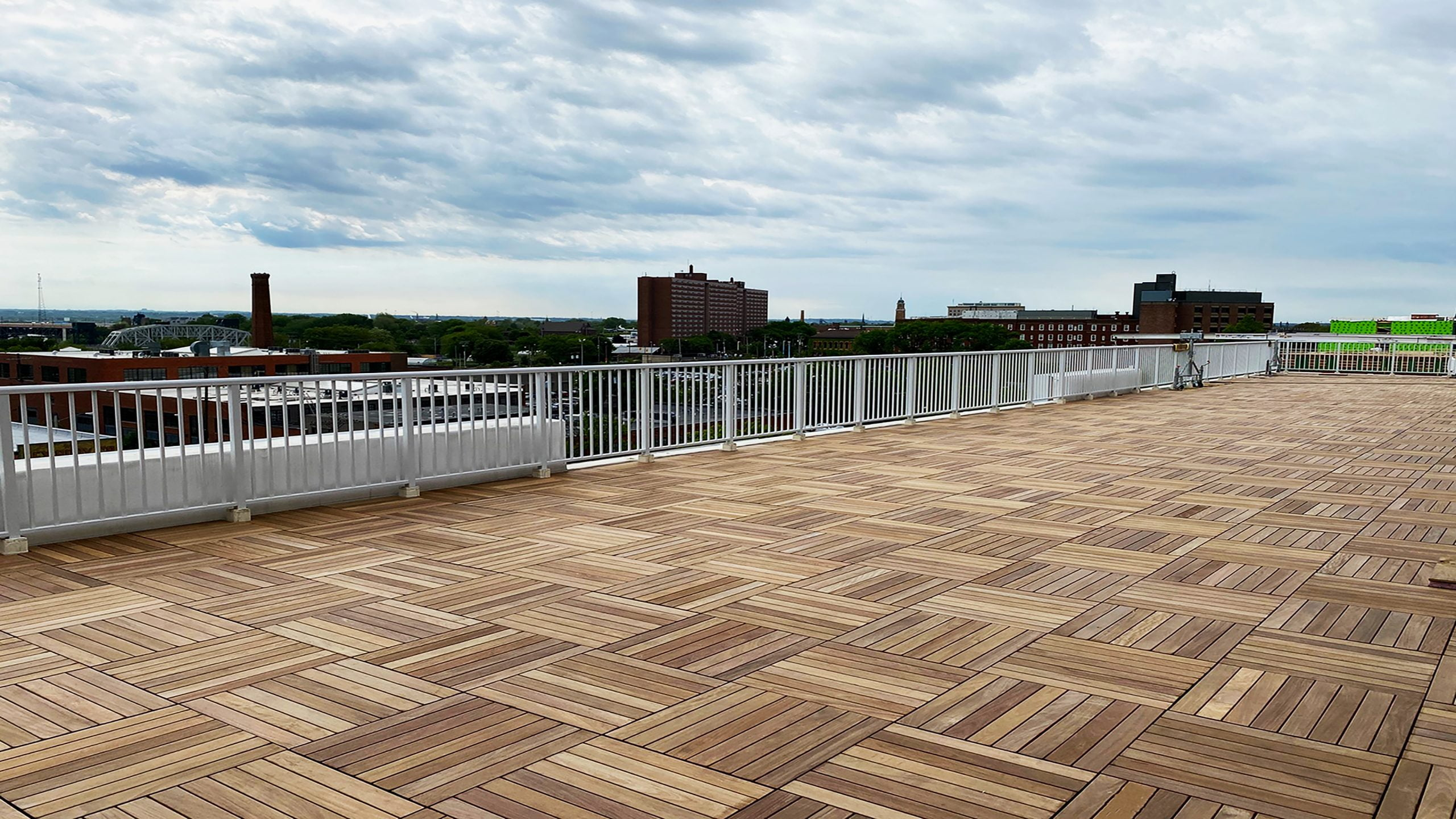 SkyWalk Ipe Deck Tile Patio at Church + State - Cleveland, OH